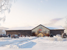 Liljewall ritar ICA Fastigheters första butik i massivträ