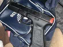 Weapons and drugs seized in west London warrant