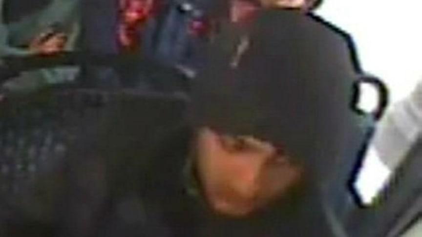 [Image of man sought following bus assault]