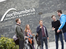 Northumbria University pops-up in Leeds