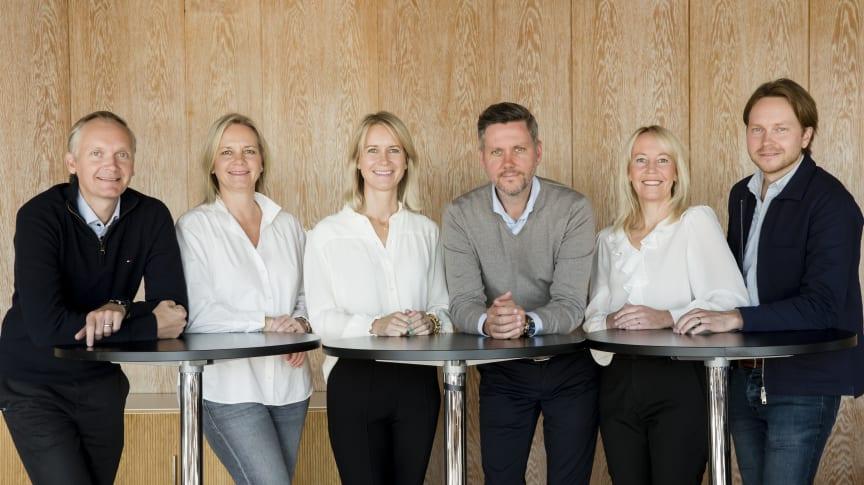 The Löfberg family, 4th generation