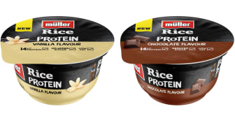 Müller targets category growth with new Müller Rice Protein