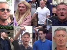 The eight defendants - 27 Sept