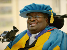 Honorary Degree for inspirational musician