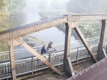Die Ruhrbrücke in Wickede ©RuhrtalRadweg