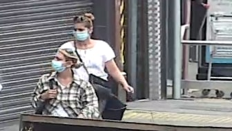 [Two women police would like to identify]
