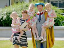 Northumbria University honours Paul Collingwood