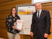 """ZÜBLIN-Sonderpreis, Verleihung Wettbewerb """"Auf IT gebaut"""""""