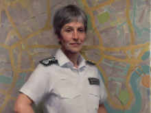 Portrait of Commissioner painted to celebrate the Met's 100 years of women in policing