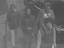 Four males police wish to identify