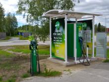Umeå Energi satsar stort på laddinfrastruktur för elfordon
