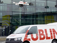 ZÜBLIN, Drohne & Fahrzeug, Deutscher Bautechniktag 2017