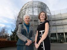 Eva Clarke and Michaela Crawley
