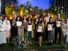 30 writers share £40,000 prize fund