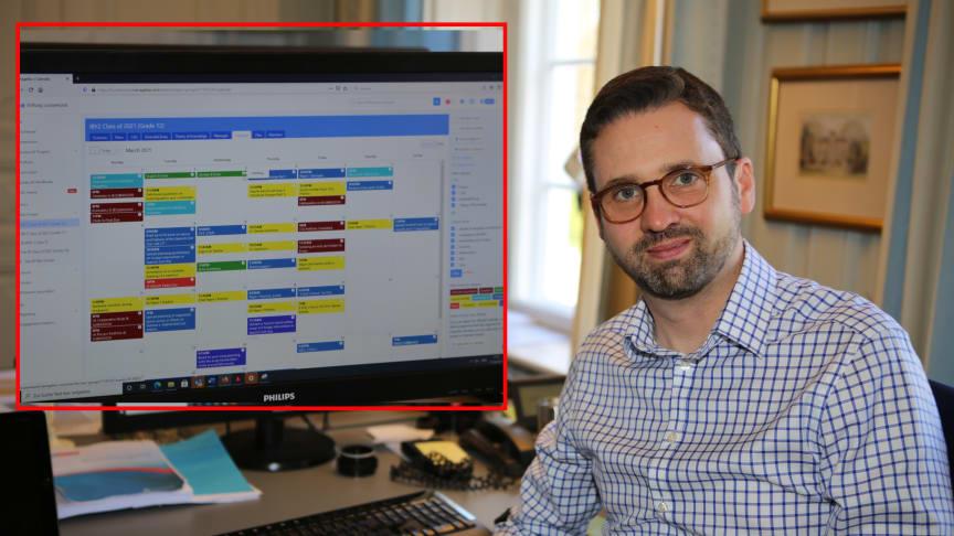 Damien Vassallo ist begeistert von dem Programm ManageBac, das im IB zum Einsatz kommt.