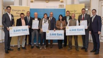 Energievorbilder in der Oberpfalz ausgezeichnet