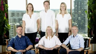 Med Löfberg Family Business Awards vill familjen Löfbergs (här i fjärde generation: Helene, Niklas, Therese, Mikael, Kathrine och Martin) uppmärksamma familjeföretagens betydelse för jobben och ekonomin i Värmland.