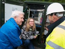 Midlothian Science Festival gets up to speed with Digital Scotland Superfast Broadband