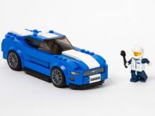 Nye Ford Mustang, verdens mest solgte sportsbil - nå også som LEGO-byggesett