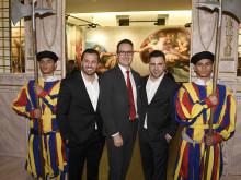 Stadtsparkasse München ist Presenting Partner der Wander-Ausstellung mit Michelangelo-Motiven aus der Sixtinischen Kapelle