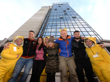 Former Osprey swoops down BT Tower for Children in Need
