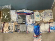 Image of seized items