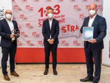 Covestro vergibt Kontraktoren Safety Award an STRABAG