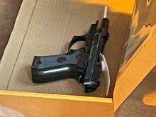 Detectives seize handgun from address in north London