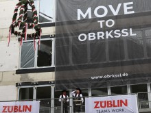 "Auf nach Oberkassel: STRABAG Real Estate feiert Richtfest für ""OBRKSSL – home of success"" in Düsseldorf"