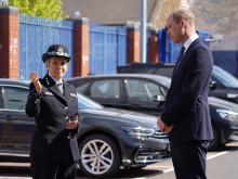 The Duke of Cambridge visits Croydon Custody Centre
