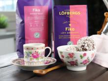Löfbergs hyllar det svenska fikat
