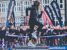 """Nach dem Motto """"Runners First"""" begleitet SportScheck seine Läufer bereits beim Training für den diesjährigen Nachtlauf."""