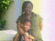 Corey with his mum, Keisha