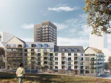 Liljewall vinner tävling för nytt kvarter i Kallebäcks Terrasser