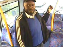 Image of man sought re: bus sexual assault