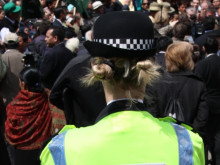 Six people charged following central London protests