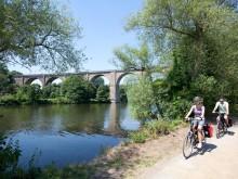 Sommer am RuhrtalRadweg:  Leistungspartner holen Infos über Highlights vor Ort ein