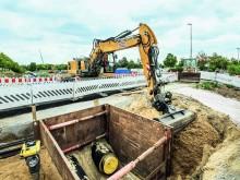 STRABAG Bauarbeiten 2. Nord-Süd-Verbindung Magdeburg