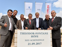 Grundsteinlegung Theodor-Fontane Höfe Berlin