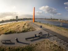 ©RuhrtalRadweg_Stratmann_Duisburg-Zielpunkt-Rheinorange