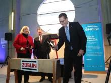 Richtfest im Heizkraftwerk Gera-Tinz