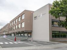 Das neue Hauptgebäude des Berufsbildungswerks Johanneskirchen