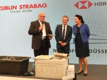 Grundsteinlegung New Office Düsseldorf