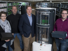 Meyer & Meyer setzt Magazino Roboter im Schuhlager ein