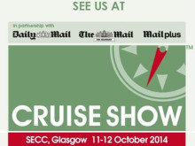 Get ready to be inspired! Find out more about Fred. at the 'Glasgow Cruise Show 2014' – Stand B10, SECC Arena, Saturday 11th / Sunday 12th October 2014