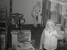 Appeal following warehouse burglary