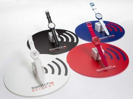 Swatch partners with Visa for pay-by-the wrist contactless payments