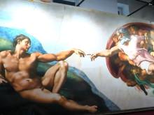 Beitrag über die Ausstellung der Sixtinischen Kapelle in München
