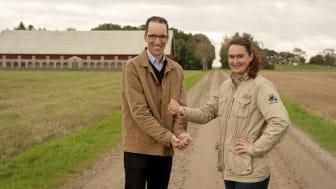 Henrik Samuelson och Karolina Valdemarsson