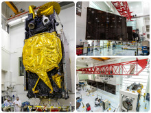 EUTELSAT 8 West B satellite in final stretch of manufacturing